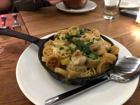 the richmond - seafood mac n cheese