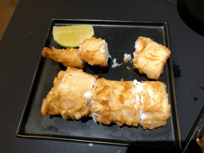 Kawi Fried Cod