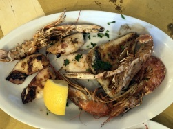Cavour 21 - Grilled seafood