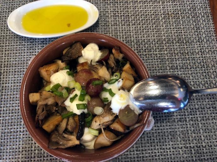 Tomino - Mushroom salad