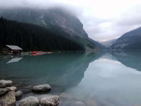 Lake Louise early morning