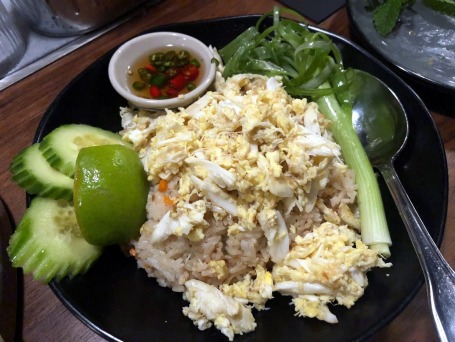 Wayla crab rice