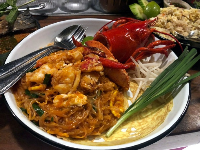 Wayla lobster pad thai